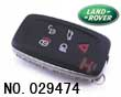 Range Rover 5-button smart remote key