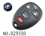 Buick Enclave 5-button remote key casing