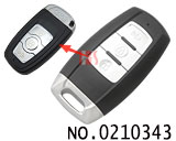 Great Wall Hover H6 car 3 button smart remote control key shell