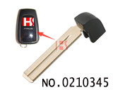 New Toyota Prado car smart remote control small key