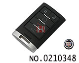 Cadillac SRX smart car remote control key (frequency: 314.87)