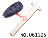 New Ford car smart card T-shaped small key