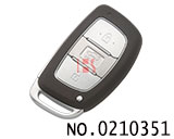 New Hyundai Elantra 3button smart remote control key
