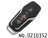 New Ford Mondeo car smart card key shell