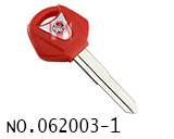 Yamaha Motorcycle Transponder Key(Red)