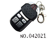 4 Button Slide-cover Remote Control(NO.1,fixed-code)