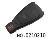 Benz car(1990's) 2 button smart remote key casing