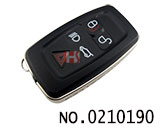 Land rover car 5 button smart remote key shell