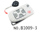 Toyota Camry 4 Button Remote Modified Key Shell (Broken-Ice)