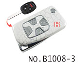 Honda 4 Button Remote Modified Key Shell (Broken-Ice)