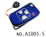 Toyota 3 Button Remote Modified Key Shell (Blue)