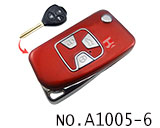 Toyota 3 Button Remote Modified Key Shell (Red)