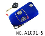 Toyota 2 Button Remote Modified Key Shell (Blue)