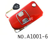 Toyota 2 Button Remote Modified Key Shell (Red)