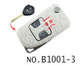 Toyota Camry 2 Button Remote Modified Key Shell (Broken-Ice)