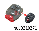 Buick Enclave 5-button remote replace rubber