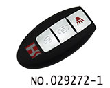 smart card remote casing for Nissan(without slot and logo)