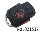 VW 4 Button Remote (753AM)