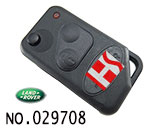 Land Rover 2-button remote key casing