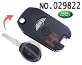 Land Rover (Discovery 2nd) 2-button remote control refit folding keyshell