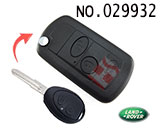 Land Rover(Discovery 2)2 button remote modified folding key shell