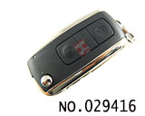 Range Rover 3-button flip remote key(Bentley Style 315MHZ)