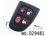 Jaguar 4 Buttons Remote Keys