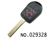 Range Rover 3-button chip remote key(315MHZ)