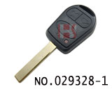Range rover car 3 button remote chip key(434MHZ)