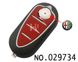 Alfa Romeo 3 button folding remote key casing SIP2