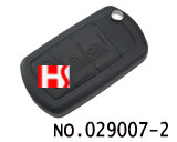 Land Rover Discovery 3 car 3 button flip remote key(433MHZ)
