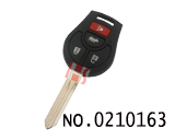 Nissan March/Sunny car 2-4 button remote chip key(433MHZ)