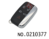 Jaguar 5 button smart car remote key (Frequency:433Mhz)