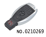 Special for Mercedes-benz 3 button smart remote key cover(BGA)