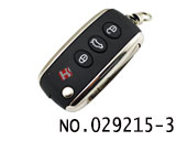 Bentley smart remote key with 433MHz HU66