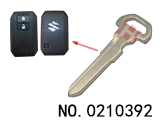Suzuki smart car emergency key