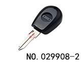 Alfa Romeo car clone transponder key(Black) (NO LOGO)