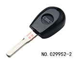Alfa Romeo car clone transponder key casing(Black)