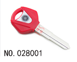 Yamaha Motocycle Transponder Key Shell(Red)