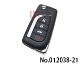 Xhorse Universal Remotes 14 Kinds of Toyota Type Remote XKTO10EN